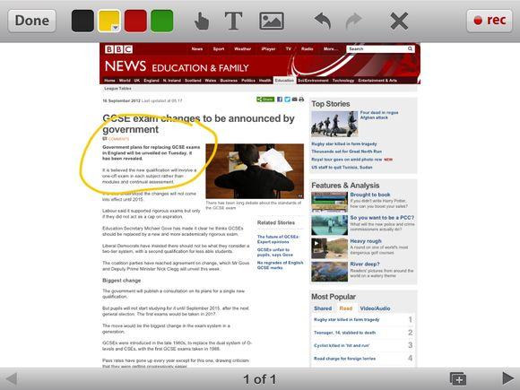 BBC corrects story